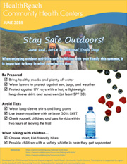 Stay Safe Outdoors